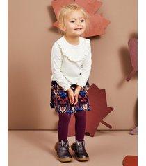 bluzka dziewczęca belly blouse ecrue