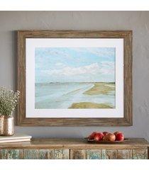 normandy shore print