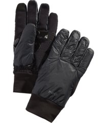 hawke & co. outfitter men's midweight mix-media gloves, created for macy's