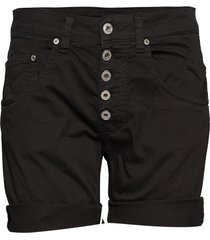5b shorts cotton shorts denim shorts svart please jeans