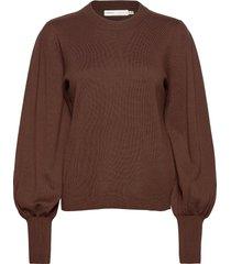 sammyiw pullover gebreide trui bruin inwear