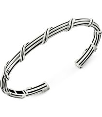 peter thomas roth cuff bracelet in sterling silver