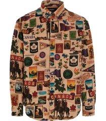 dsquared2 canada drop shirt