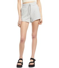 bp. french terry shorts, size large in grey light heather at nordstrom