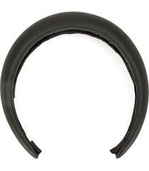 jennifer behr chunky headband - black