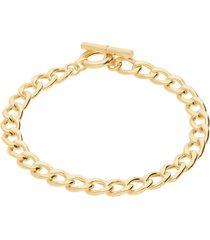 bracciale in oro giallo a maglia groumette per donna