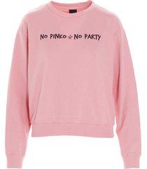 pinko algebra capsule no no party sweater