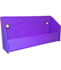 revisteiro prateleira organibox violeta - roxo - dafiti