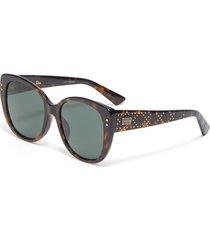 ladydiorstuds4f cat eye acetate frame sunglasses