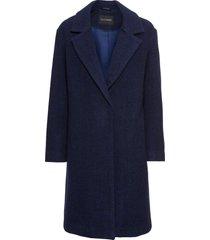 cappotto corto in simil lana (blu) - bodyflirt