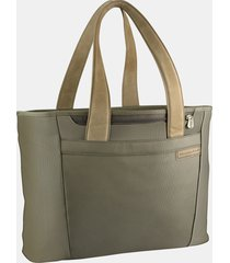briggs & riley baseline large shopping tote - green