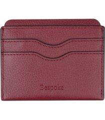 bespoke men's pebble leather card case