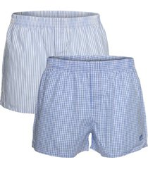 boss woven boxer shorts with hidden fly 2 stuks