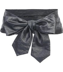 philosophy di lorenzo serafini soft belt with bow