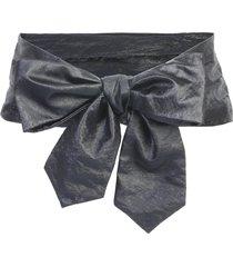 philosophy di lorenzo serafini soft belt with bow