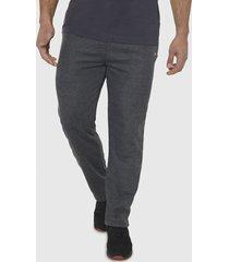 pantalón de buzo recto charcoal - hombre corona