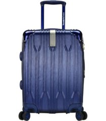 """traveler's choice bell weather expandable 20"""" spinner suitcase"""
