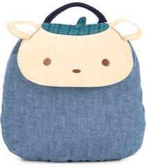 familiar teddy bear backpack - blue