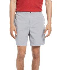 treasure & bond elastic waist shorts, size xxx-large in grey sleet at nordstrom