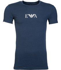 emporio armani heren t-shirt - donkerblauw
