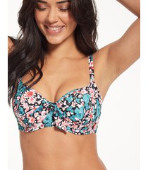 water meadow underwire sweetheart padded bikini top