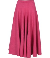 marni fine knit pleated skirt