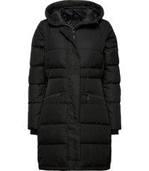selma w coat gevoerde lange jas zwart 8848 altitude