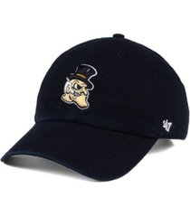 '47 brand wake forest demon deacons clean up cap