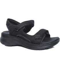 sandalia negra azaleia 330