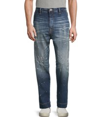 cult of individuality men's straight-leg jeans - zepher - size 36