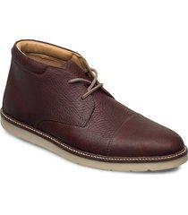 grandin top desert boots snörskor brun clarks
