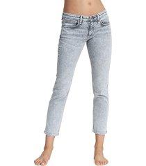 rag & bone women's dre low-rise slim boyfriend jeans - acid - size 29 (6-8)