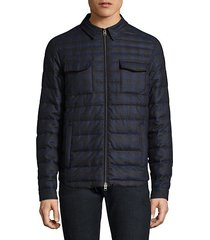 sportswear quilted wool jacket