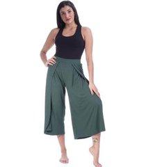 calça pantacourt amazonia vital malha curta feminina