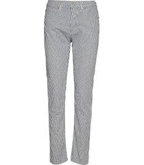 girlfriend milky way byxa med raka ben multi/mönstrad please jeans
