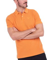 barbour men's washed sport polo shirt