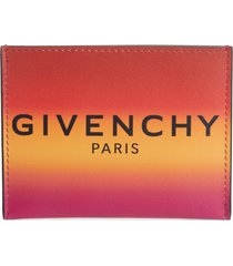 men's givenchy ombre leather card holder -