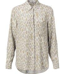 button up shirt light sand dessin