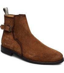 max mid zip boot shoes chelsea boots brun gant