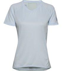 25/7 tee runr t-shirts & tops short-sleeved blå adidas performance