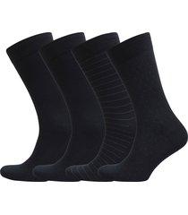egtved socks, 4-pak bamboo underwear socks regular socks blå egtved