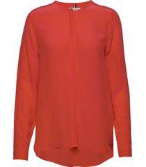 lottie blouse ls blouse lange mouwen oranje tommy hilfiger