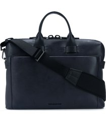 troubadour generation pathfinder slim briefcase - blue