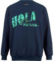 sweatshirt men plus marine