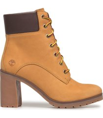 allington 6in lace up shoes boots ankle boots ankle boot - heel brun timberland