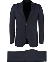 lanvin two-piece wool suit