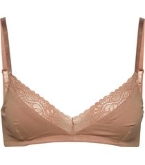 bea bra lingerie bras & tops bra without wire beige underprotection