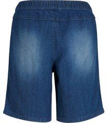 jeans short met tapes