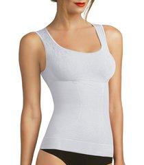camiseta control amalia tall blanco