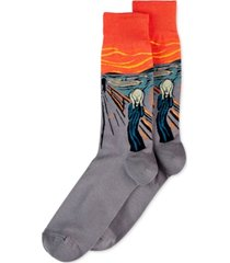 hot sox men's the scream socks